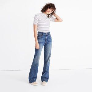 rivet & thread retro wide-leg jeans
